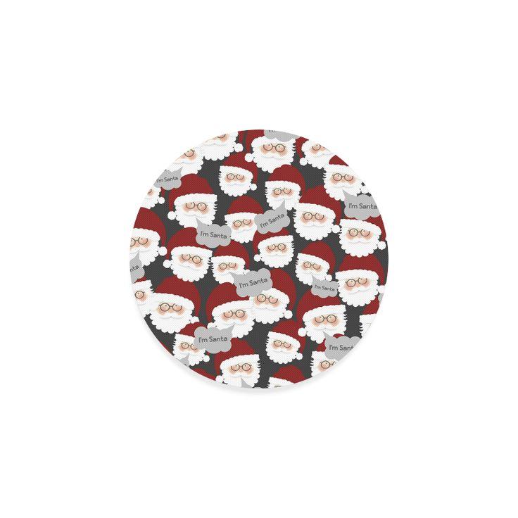 Who's the Real Santa? Round Coaster.
