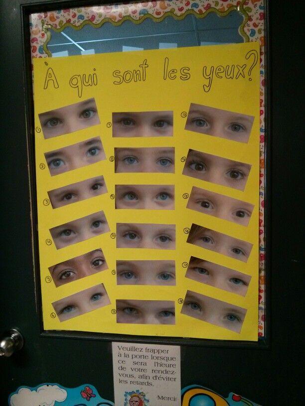 Il faut deviner à quel enfant sont ces yeux !