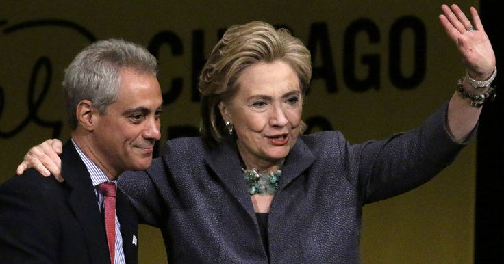 Chicago's mayor, who is backing Clinton, has a job approval rating of 27 percent.