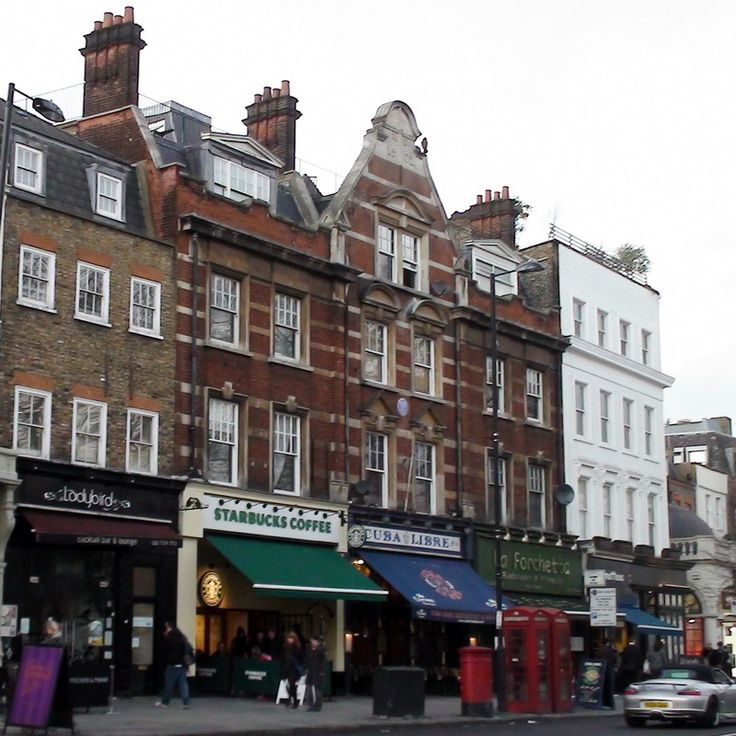 Former home of singer Dame Gracie Fields -72a Upper Street, London  N1
