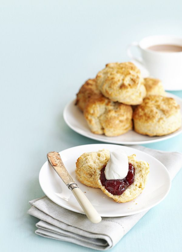 classic scone is a great recipe to master. These light as air scones ...