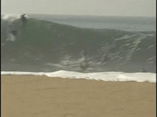 This former boogie boarder. | 23 People Who Should Stay Away From The Beach For A While