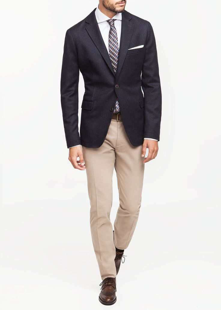 Smart casual. Fridays. Summer wedding guest. Americana premium lana coderas - Hombre | OUTLET