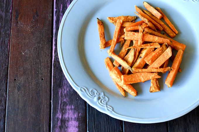 Sweet potato keeps cropping up as our go-to, slightly sweet option when we just need something a little starchy, a little less green. So we're always on th