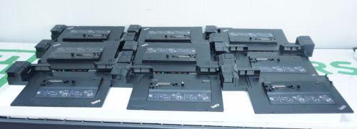 Lot of 14x Lenovo 433710U Mini Dock Plus Series 3 for T410 T420 T510 T520 X220