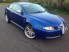 Used 2008 (58 reg) Blue Alfa Romeo GT 1.9 JTDm 16V Cloverleaf 2dr for sale on RAC Cars
