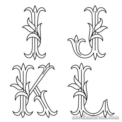 74 Best Embroidery Monograms Images On Pinterest Embroidery