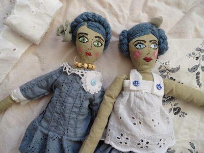 Przyjaciółki - szmacianki      Rag dolls