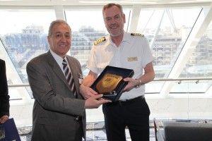 Στον Πειραιά το νεότευκτο κρουαζιερόπλοιο  ''VIKING STAR''