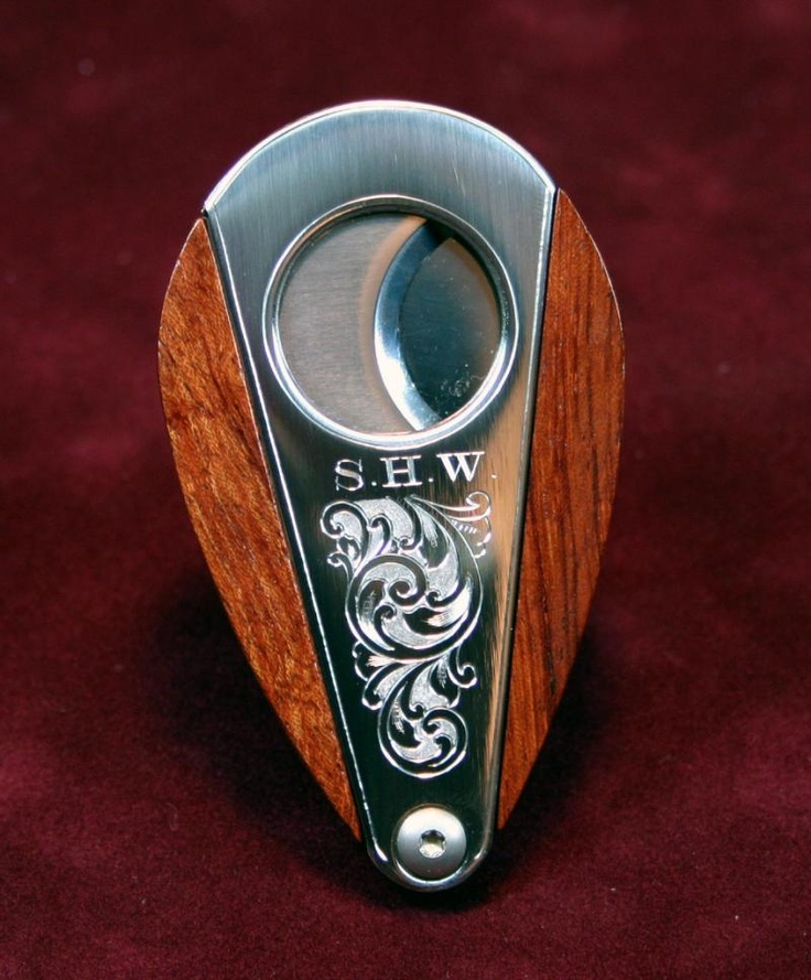 Nice Xikar double-guillotine cigar cutter.  Xikar makes a good variety of cutters,