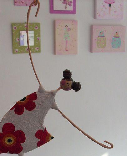 Muñecas papel mache