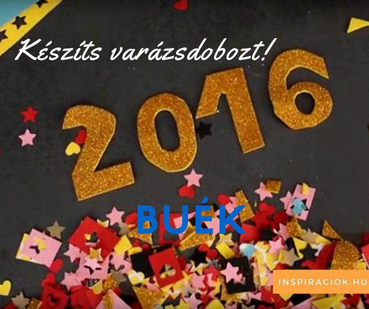 Szilveszteri - Újévi Varázsdoboz |  Boldog Kreatív Új Évet 2016