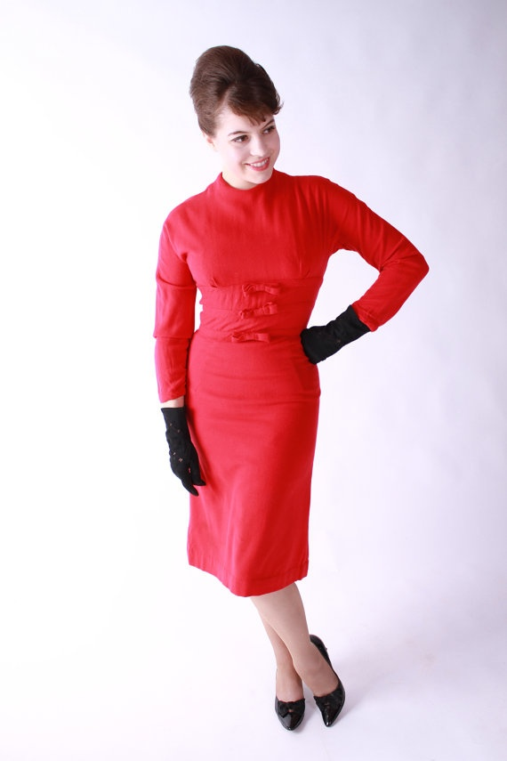 Red dress vintage style mens clothing