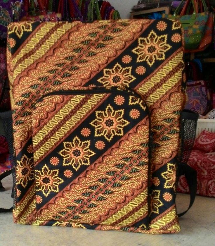 Bag with full of batik design