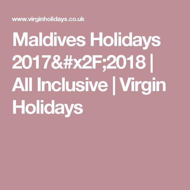 Maldives Holidays 2017/2018   All Inclusive   Virgin Holidays