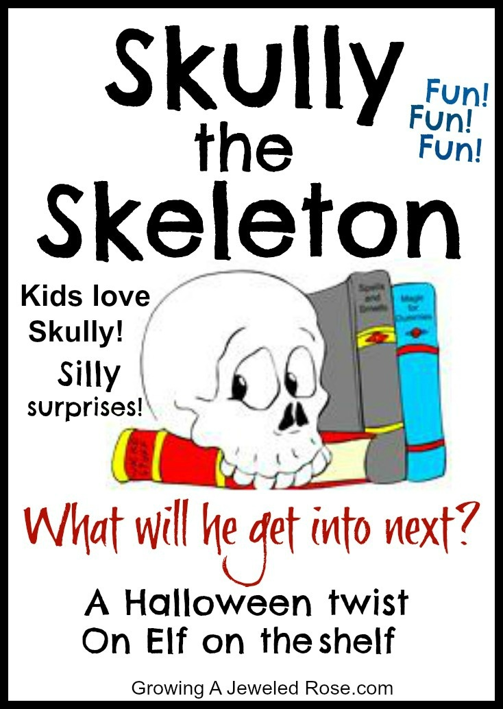 Such a fun Halloween tradition! Skully the skeleton- a silly skeleton bursting with Halloween spirit. He hopes to pass the spirit on and make Halloween as magical and fun for children as possible. Read his story, grab a Skully and join the fun!