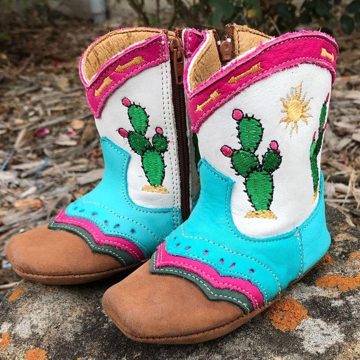 """""""Pecos"""" Cactus Boots"""