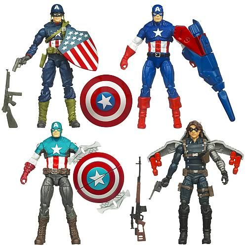 Captain America movie toys  | Captain America action figures - Movie series waves 1-2 | Action ...