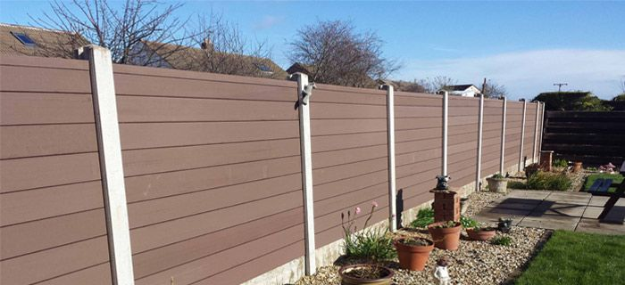 The Basic of Building Your Fence, WPC Material Fence