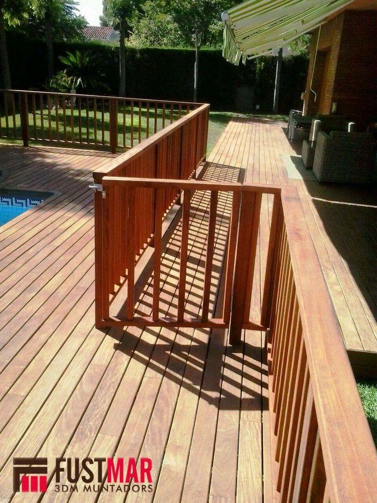 M s de 25 ideas incre bles sobre valla de madera en - Vallas de madera para piscinas ...