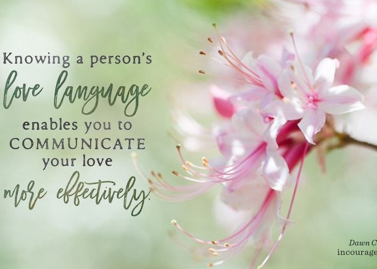 "Understanding the love languages of your spouse and family can play a huge factor in your relationships with those closest to you. According to Gary Chapman's best-seller, The 5 Love Languages: ""Of the countless ways we can show love to one another, five key categories, or five love languages, proved to be universal and comprehensive — everyone has a love language, and we all identify primarily with one of the five love languages: Words of Affirmation, Quality Time, Receiving Gifts, Acts of…"