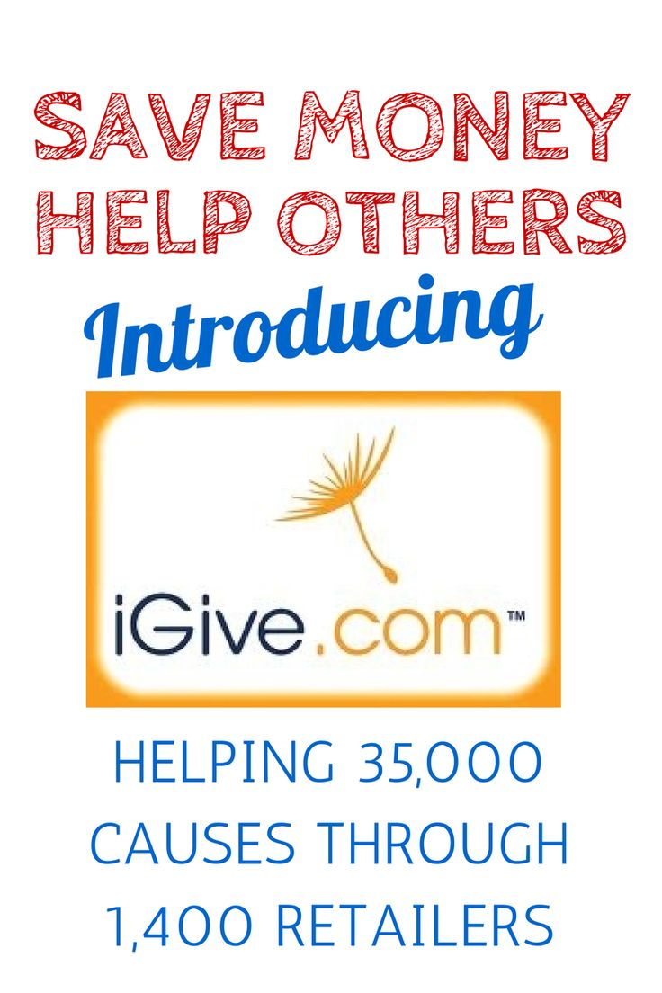 Start Using iGive Today! Join 350,000+ Shoppers Supporting Nonprofits: http://www.igive.com/welcome/pwi/cr47.cfm