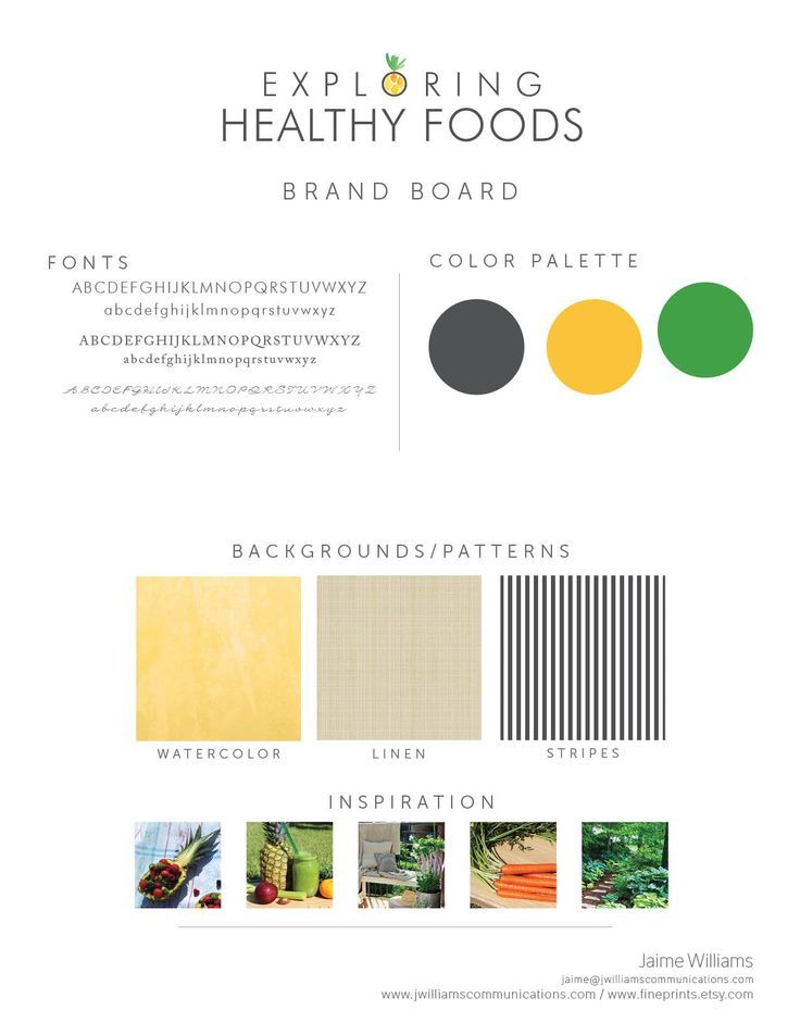 Exploring Healthy Foods - logo design, brand board, and eBook design - nutrition guide, healthy lifestyle blogger #graphicdesign #healthyeating