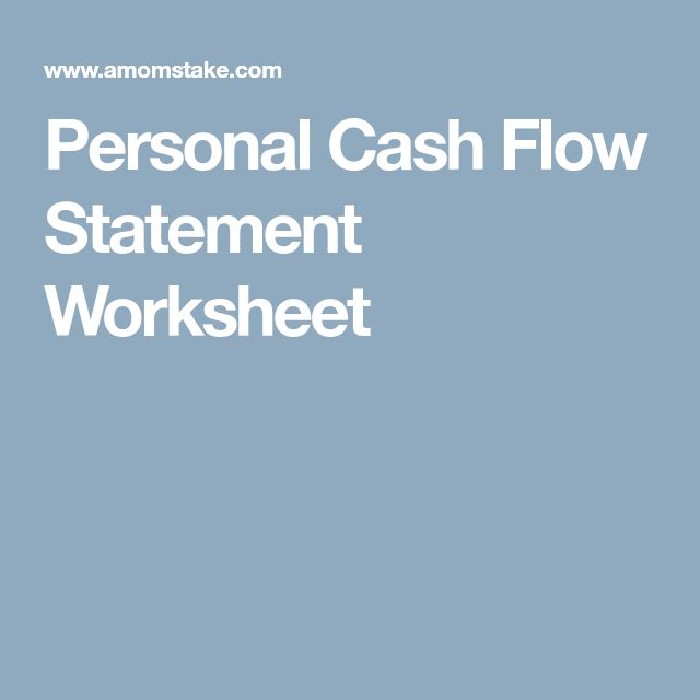 The  Best Cash Flow Statement Ideas On   Income