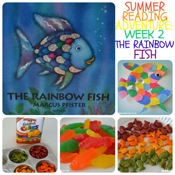 Summer reading adventure the rainbow fish momontimeout for Rainbow fish lesson plans