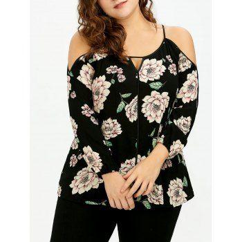 GET $50 NOW | Join Dresslily: Get YOUR $50 NOW!https://m.dresslily.com/plus-size-keyhole-cold-shoulder-floral-blouse-product2045316.html?seid=Ijtljpb006G7bKGnr2tbKUOn9K