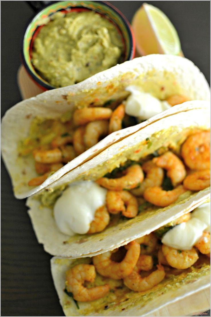 Sweet my Kitchen: Tacos de camarão