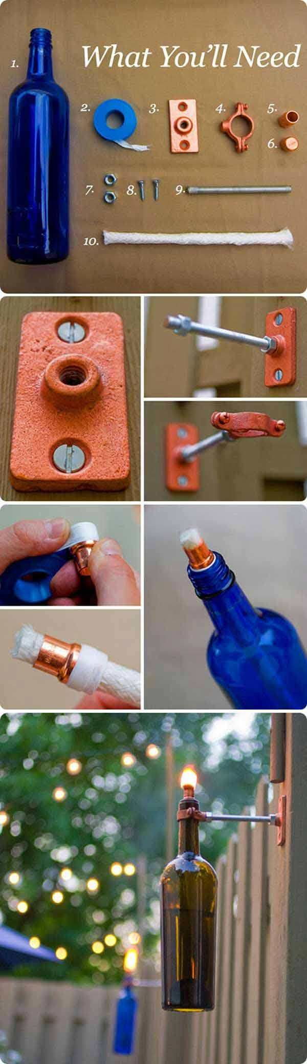 If you have got empty wine bottles in your home then these DIY wine bottle ideasfor the garden will interest you for sure.