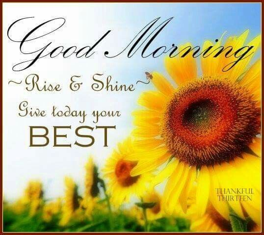 Good Morning Give Today Your Best Sweta Morning Quotes Good