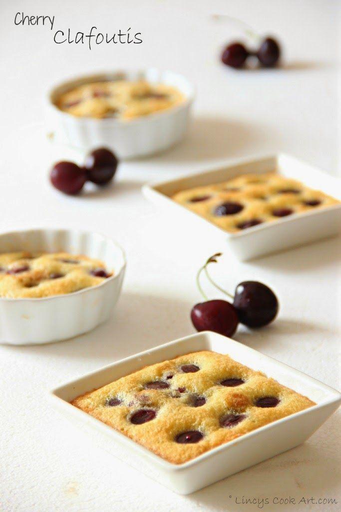 Cherry Clafoutis/ Cherry Clafouti | Cakes& Bake: Cakes, Sweets & Bisc...