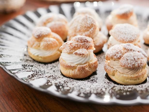 288 best valeries home cooking images on pinterest food get vanilla and coffee cream puffs recipe from food network forumfinder Choice Image