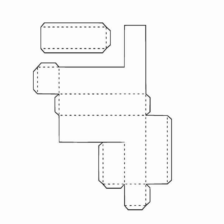 3D Alphabet, Buchstaben basteln, ausschneiden, schneiden