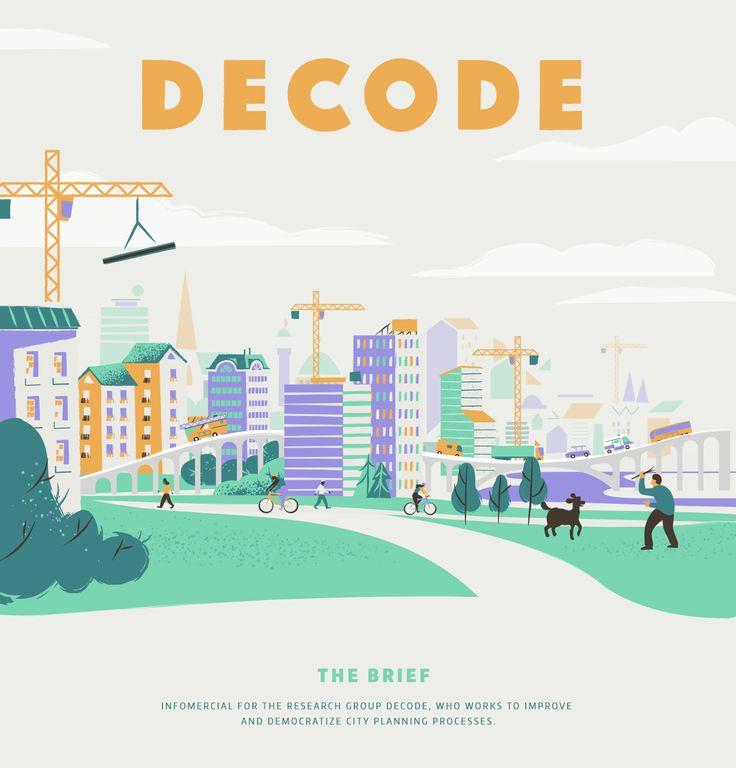 Decode on Behance by Brikk