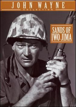 John Wayne Movie / Sands of Iwo Jima is a 1949 war film starring John Wayne that follows a group of United States Marines from training to the Battle of Iwo Jima during World War II. The movie also features John Agar, Adele Mara, and Forrest Tucker. Sands of Iwo Jima was nominated for Academy Awards for Best Actor in a Leading Role (John Wayne), Best Film Editing, Best Sound, Recording (Daniel J. Bloomberg) and Best Writing, Motion Picture Story.