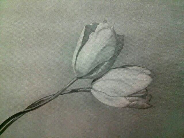 Oil painting~flower