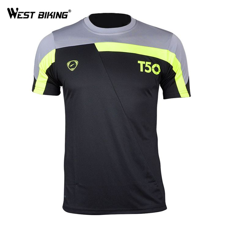 Find More Cycling Jerseys Information about Running Cycling Jersey Men's T…