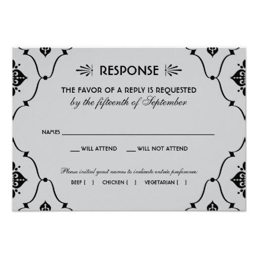#weddinginvitation #weddinginvitations (Wedding RSVP Card | Art Deco Style) #Deco #Design #Elegant #Pattern #Reply #Response #Retro #Rsvp #Vintage #Wedding is available on Custom Unique Wedding Invitations  store  http://ift.tt/2anpaqA