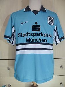 1860-MUNCHEN-MUNICH-GERMANY-1997-PLAYER-VINTAGE-FOOTBALL-JERSEY-SHIRT-SOCCER-S