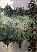 Clearing After Rain, Maganatawan River, Ontario, 1910  by James Edward Hervey MacDonald