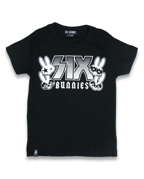 Tričko Six Bunnies - Rock group