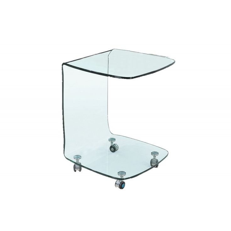 Trolley Glasser Clear glass 10mm tempered 45x45x60 EM726