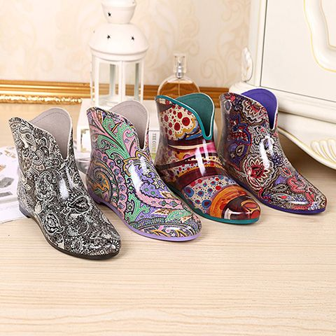 >> Click to Buy << 2016 South Korea Fashion Boots Short Canister Boots Female Water Shoes Rubber Spring Autumn Wading Boots Women Rainboots Shoes #Affiliate