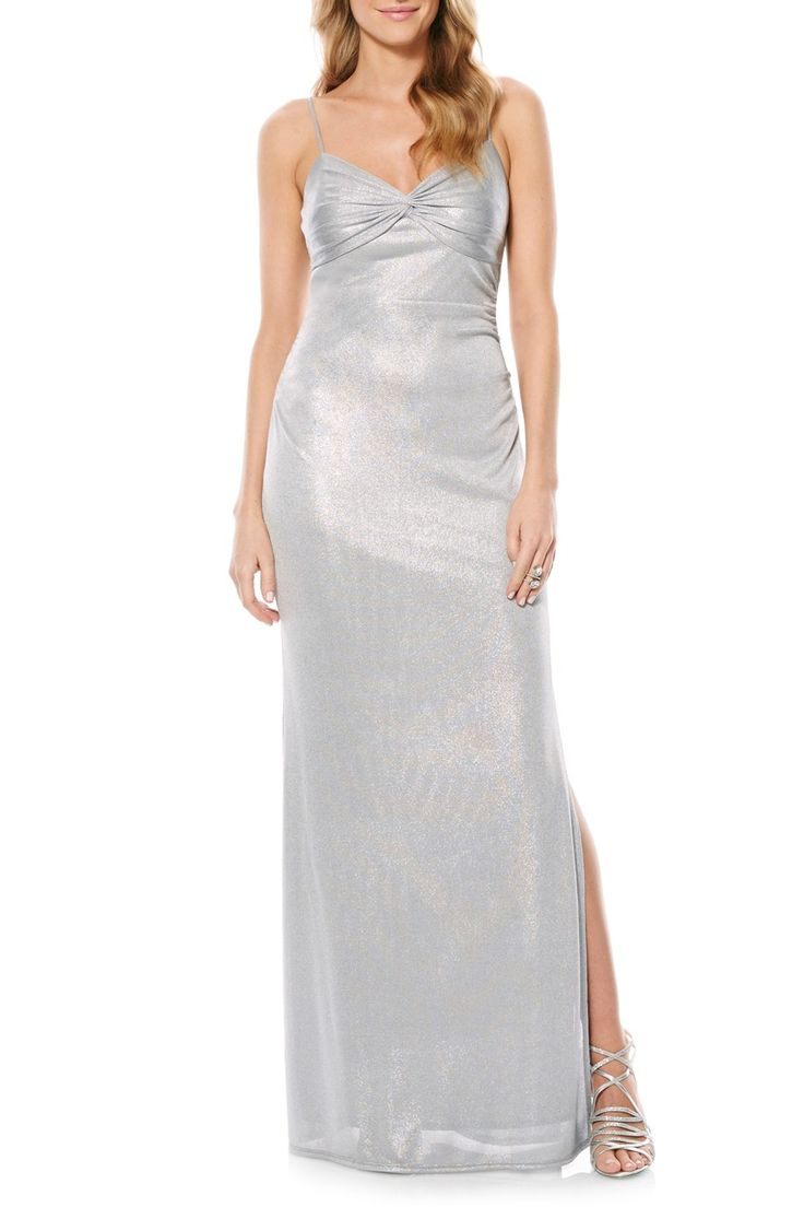 Metallic Gown by Laundry By Shelli Segal on @nordstrom_rack