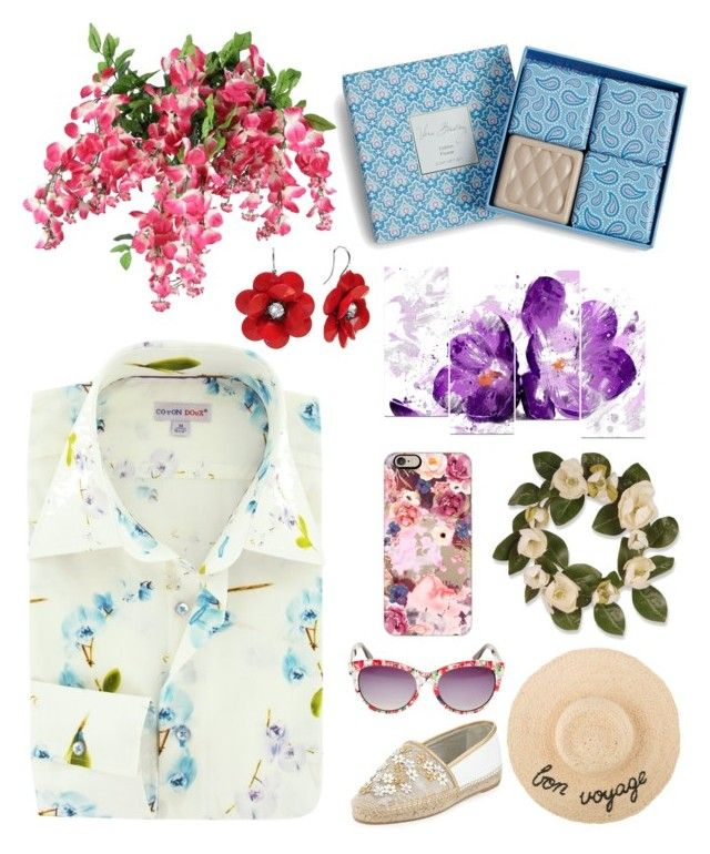 """Flower!"" by archita-dewi on Polyvore featuring National Tree Company, Vera Bradley, Casetify, Betsey Johnson and René Caovilla"