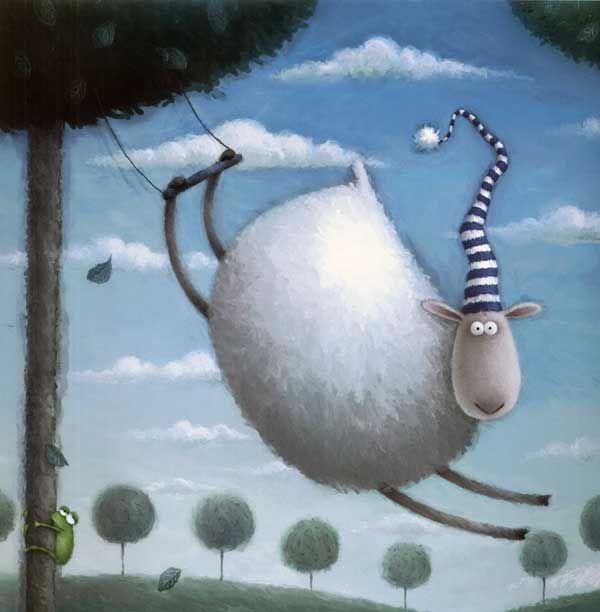 Весне, овечка в картинках прикольная