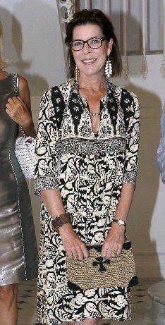 The Princess of Hanover opened an exhibition at Villa Sauber Monaco.